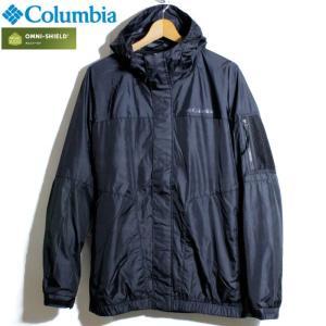 Columbia コロンビア マウンテンパーカー 撥水 オムニシールド 黒 ブラック|chiki-2