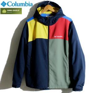 Columbia コロンビア ジャケット マウンテンパーカー 撥水 オムニシールド マルチ 切替|chiki-2