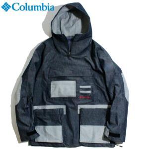 Columbia コロンビア 焚き火 デニムアノラック ジャケット 撥水加工 ドクターデニム 本澤裕治|chiki-2