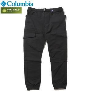 Columbia コロンビア ロングパンツ ストレッチ 撥水 UVカット ブラック|chiki-2