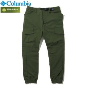 Columbia コロンビア ロングパンツ ストレッチ 撥水 UVカット オリーブ|chiki-2