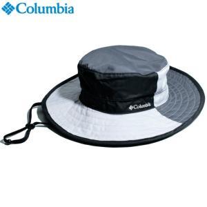 Columbia コロンビア アウトドアハット つば広 撥水生地 モノトーン ブラック グレー 配色切替|chiki-2