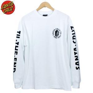 SANTACRUZ サンタクルーズ ロンT 長袖Tシャツ 袖プリ|chiki-2