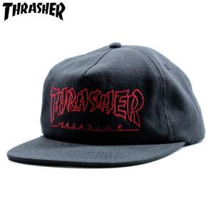 スラッシャー THRASHER キャップ スナップバック|chiki-2