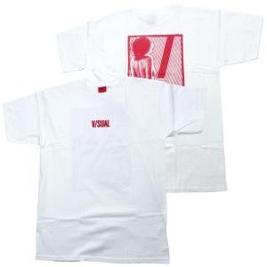 V/SUAL ヴィジュアル Tシャツ セクシー レディー イラスト|chiki-2