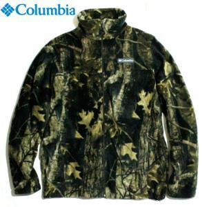 Columbia コロンビア フリースジャケット マイクロフリース フルジップ 総柄 リアルツリーカモ|chiki-2