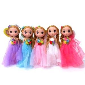 お姫様 お人形 ドレスドール フェアリー プリンセス キーホルダー|chiko-mori