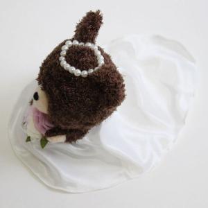 ぬいぐるみ電報 くまのがっこう ジャッキー&デイビット ウェディングセット ぬいぐるみ ラッピング無料 chiko-mori 03