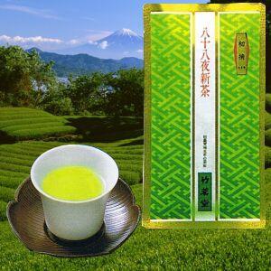 八十八夜新茶 初摘 100g袋|chikumei