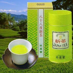 八十八夜新茶 茗香 2号缶|chikumei