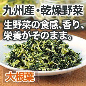 乾燥野菜 大根葉 大根菜 国産野菜  保存野菜|chikyuya