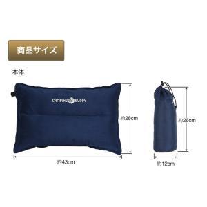 枕 枕/エアーピロ エアピロー 自動膨張式 エアー枕 旅行 車中泊 アウトドア キャンプ CAMPING BUDDY|chikyuya|05