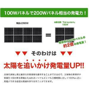ソーラーパネル 太陽光パネル 太陽光発電 自動追尾システム 自家発電 家庭用|chikyuya|02