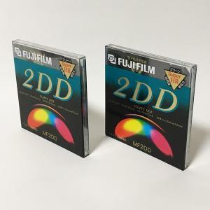 【新品】Fujifilm 2DD フロッピーディスク MF2-DD MF2-DD.1P(2枚セット)