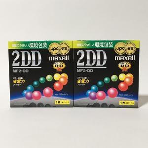 【新品】Maxell 2DD フロッピーディスク MF2-DD MF2DD SK1P(2枚セット)