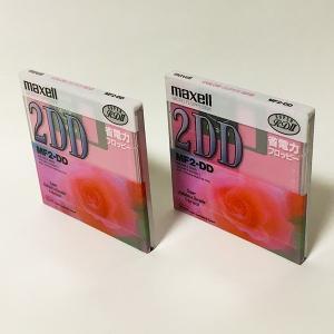 【新品】Maxell 2DD フロッピーディスク MF2-DD MF2-DD(PK)1P(2枚セット)