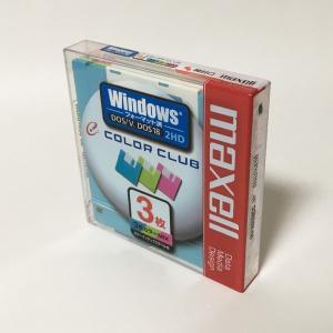【新品】Maxell 2HD フロッピーディスク Windowsフォーマット MFHD18CC.3P(3枚組)