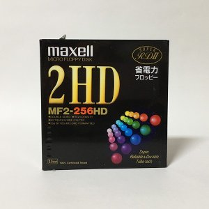 【新品】Maxell 2HD フロッピーディスク MF2-256HD.1P