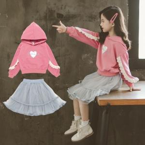 子供服 入学式 女の子 フォーマル スーツ キッズ セットアップ  トップス パーカー フォーマル 子供 女の子 セットアップ キッズ スカート おしゃれ|childeco