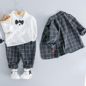 子供服 フォーマル 男の子 キッズスーツ 子供 スーツ 入園式 赤ちゃん フォーマルスーツ おしゃれ フォーマルウェア 紳士風|childeco
