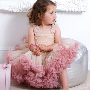 ベビー服 ワンピース  キッズ ドレス  キャミワンピース  赤ちゃん ノースリーブ   ティアードスカート ガールズ  キャミ  女の子 チュチュスカート|childeco