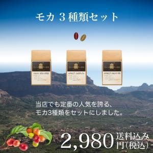 コーヒー シングルオリジン サードウェーブ  モカ3種類セッ...