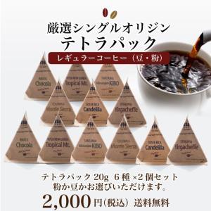 コーヒー 珈琲 テトラパック12個セット