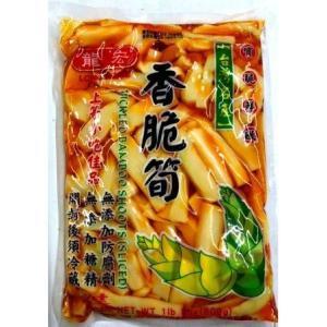 龍宏 LONG HOME 香脆筍(味付け筍)PICKLED BAMBOO SHOOTS (SLICED) 600g