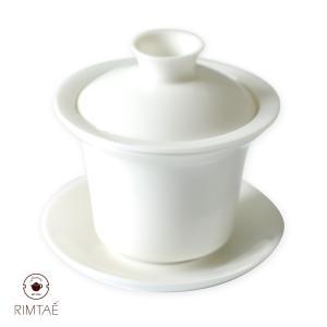 きゅのみ 茶こし付湯呑 蓋碗 1客 LZ|chinagrand