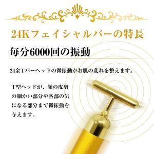 24K フェイシャルバー ※お風呂で使える防水構造 美顔器 1年保証|chinavi|02