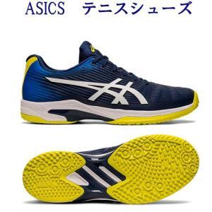 アシックス テニスシューズ ソリューションスピードFF OC 1041A002-402 オムニ・クレ...