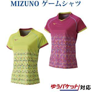 ミズノ ゲームシャツ(ウィメンズ) 72MA8206レディース 2018SS バドミントン テニス ゆうパケット(メール便)対応 在庫品