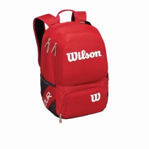 ウイルソン ツアー V バックパック ミディアム レッド WRZ843695 タイムセール バドミントン テニス バッグ リュック Wilson 2016年春夏モデル