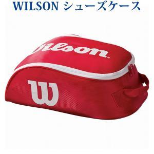 在庫品 ウイルソン ツアーシューバッグ4 レッド×ホワイト WRZ847887 2018SS
