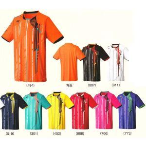 15SS ヨネックスメンズシャツ(スタンダードサイズ)12098 ゆうパケット対応バドミントン 男女兼用 YONEX 2015年春夏モデル