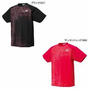 ヨネックス UNI ドライTシャツ 16303 バドミントン 半袖 バドミントン日本代表応援Tシャツ ユニセックス 男女兼用YONEX2017年春夏モデル