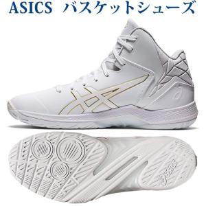 アシックス バスケットシューズ ゲルトライフォース3 1061A004-101 ホワイト/リッチゴールド メンズ 2021SS chispo