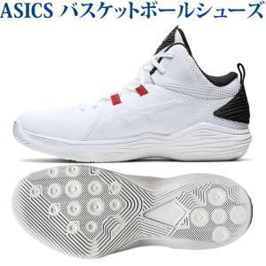 アシックス バスケットボールシューズ ノヴァフロー ホワイト/ブラック 1063A028-101 ユニセックス 2020AW 同梱不可 RFCL あすつく chispo