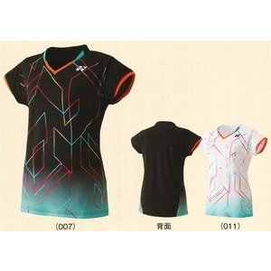 ヨネックス レディースシャツ スリムロングフィットタイプ 20236 バドミントン テニス 女性用 YONEX 2015年春夏モデル ゆうパケット対応 タイムセール4 在庫品|chispo