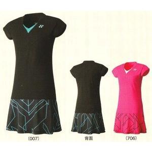 ヨネックス ワンピース 20237 バドミントン テニス シャツ 半袖 スカート ウィメンズ レディース 女性用 YONEX 2015年春夏モデル タイムセール4 在庫品|chispo
