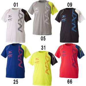 ミズノ Tシャツ 32JA7020 N−XTシリーズ バドミ...