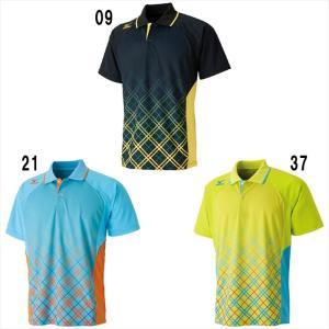 ミズノ ゲームシャツ 62JA6112 バドミントン テニス トップス 半袖 ユニセックス 男女兼用 mizuno ゆうパケット対応 取寄品|chispo