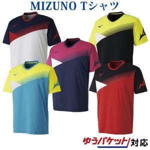 ミズノ Tシャツ 62JA8006 メンズ 2018SS バドミントン テニス ゆうパケット(メール便)対応 在庫品