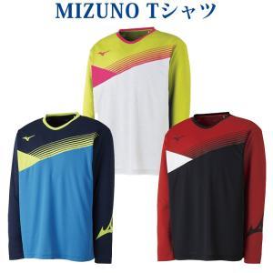 ミズノ Tシャツ 62JA8007 メンズ 2018SS バドミントン テニス ソフトテニス 在庫品...