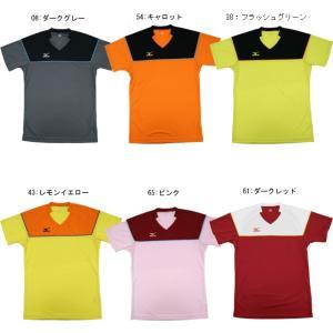 ミズノ  ゲームシャツ 72JA7Z31  バドミントン テニス ウエア メンズ ユニセックス ユニフォーム  MIZUNO 2017年春夏モデル 限定品 在庫品|chispo