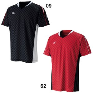 ■品番:72MA6003 ■商品名:ゲームシャツ ■カラー:  09:ブラック  62:レッド ■サ...