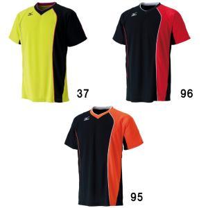 ミズノ ゲームシャツ 72MA6005 バドミントン テニス ウエア 半袖 ユニセックス 男女兼用 MIZUNO 2016年春夏モデル ゆうパケット対応 在庫品|chispo