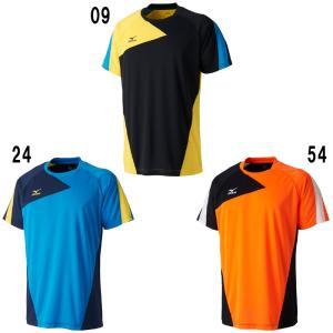 ミズノゲームシャツ72MA7002バドミントン テニス ソフトテニス メンズ ユニセックス ユニフォームMIZUNO 2017年春夏モデルゆうパケット(メール便)対応 在庫品|chispo