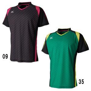 ミズノ ゲームシャツ 72MA7005 JR北海道モデル バドミントン テニス ウエア メンズ 2017SS ゆうパケット(メール便)対応 在庫品|chispo