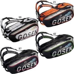 ゴーセン ラケットバッグPRO6(6本入り) BA14PR6 バドミントン テニス ラケットケース バッグ 収納 GOSEN 2014年モデル 在庫品|chispo